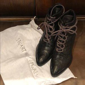 Stuart Weitzman and Gigi Hadid boots